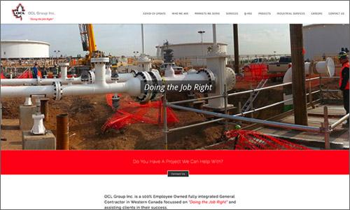 calgary website design - OCL Group