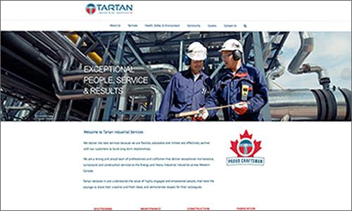 calgary website design - tartan